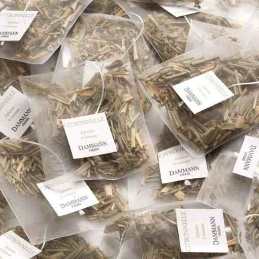 Zeliščni čaj Dammann Citronnelle, kristalne vrečke
