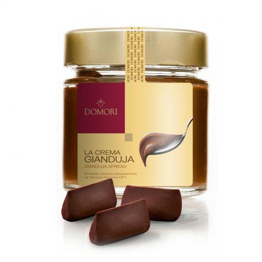 Čokoladni namaz Domori Crema Gianduja, 200 g