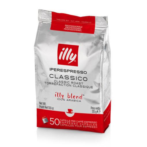Kava v kapsulah illy Iperespresso Professional, normalno pražena, 50 kapsul