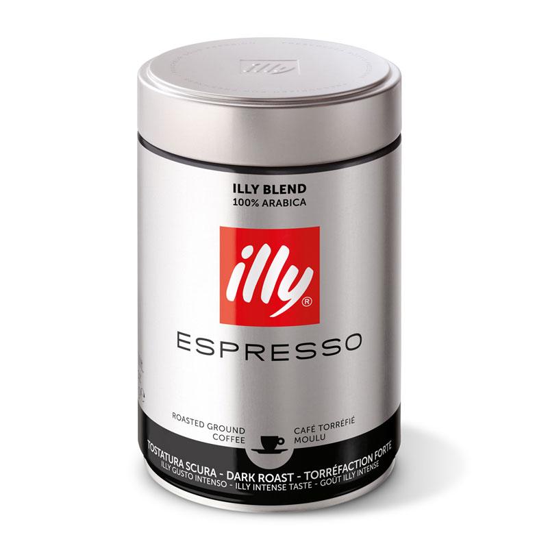 illy mleta kava, močneje pražena, 250 g