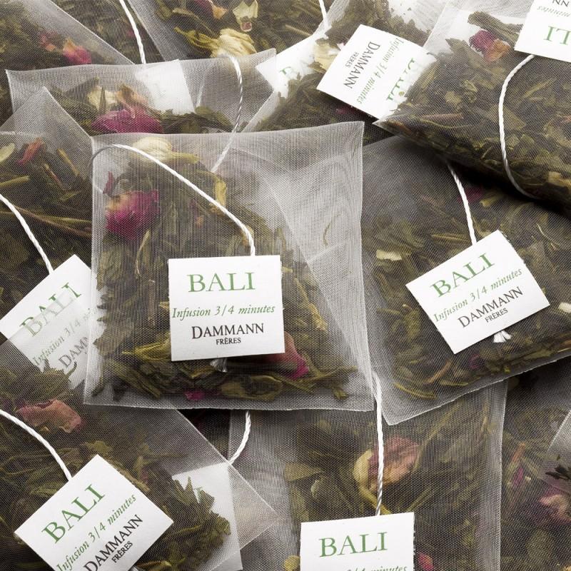 Zeleni čaj Dammann Bali, kristalne vrečke