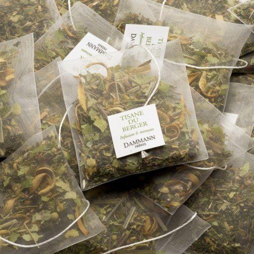 Zeliščni čaj Dammann Tisane du Berger, kristalne vrečke
