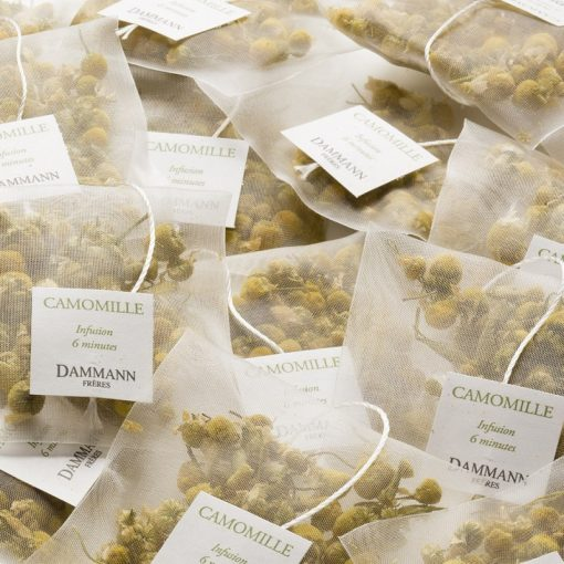 Zeliščni čaj Dammann Camomille, kristalne vrečke