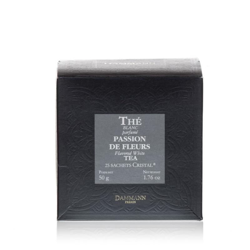 Beli čaj Dammann Passion de Fleurs, 25 kristalnih vrečk