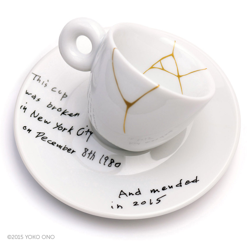 Yoko Ono – Mended Cups (New York City)