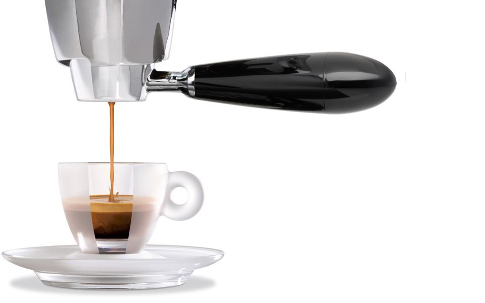 Priprava kave po postopku Iperespresso