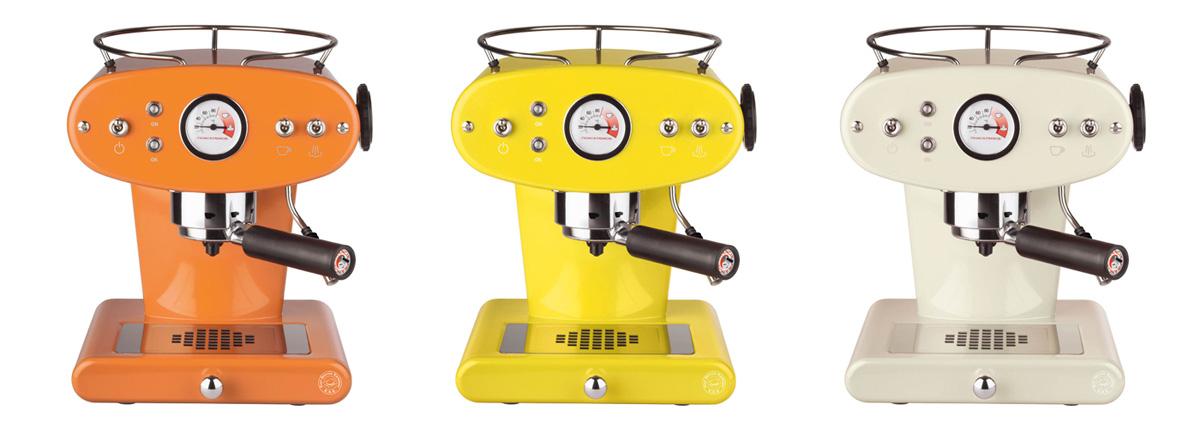 Barve kavnega aparata X1 Trio E.S.E.