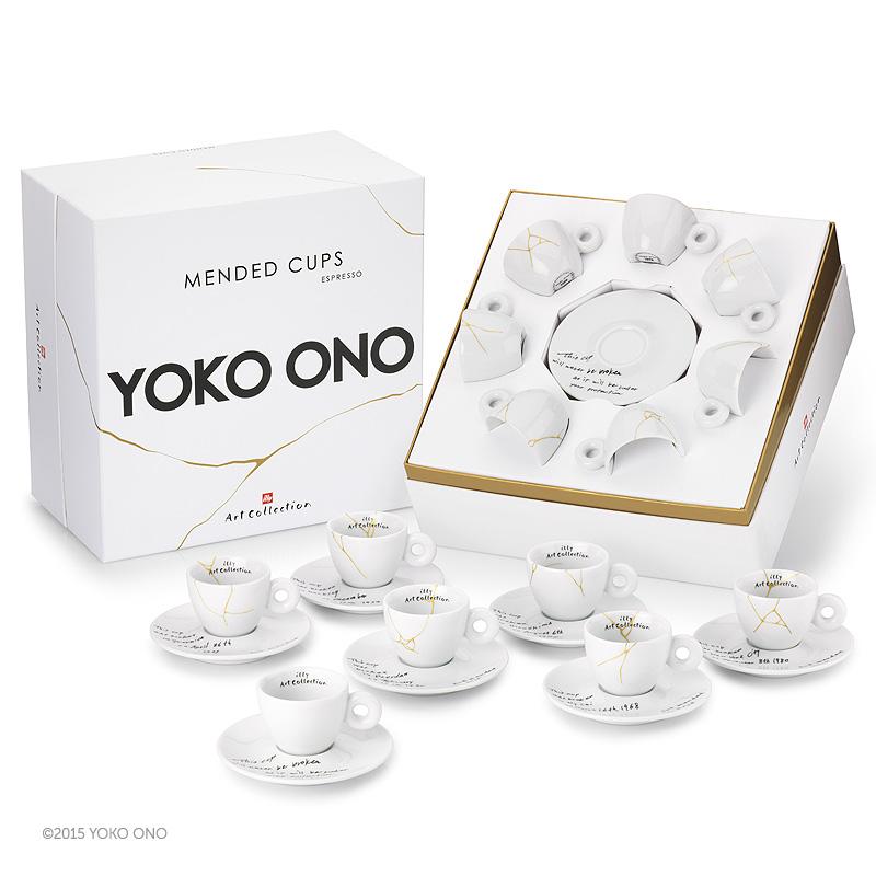Yoko Ono – Mended Cups (komplet)