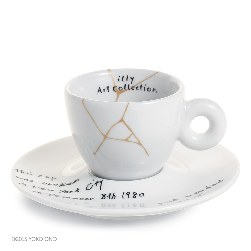 Yoko Ono – Mended Cups