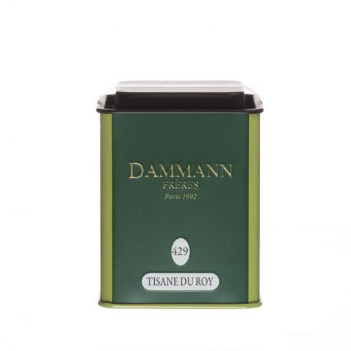 Zeliščni čaj Dammann Tisane du Roy, pločevinka 65 g