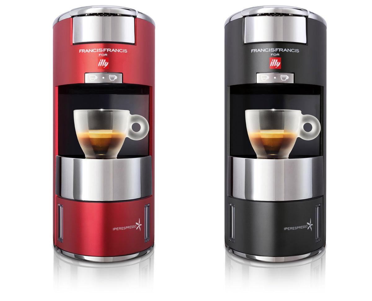 Barve kavnega aparata X9 Iperespresso