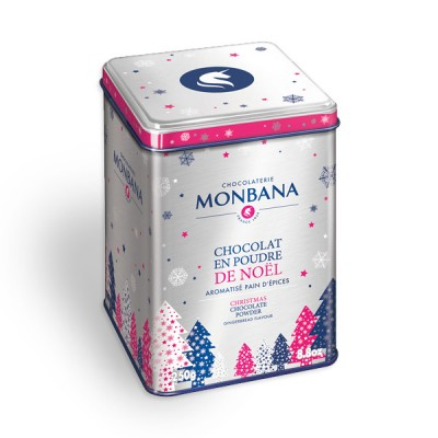 Monbana vroča čokolada z okusom medenjakov, 250 g