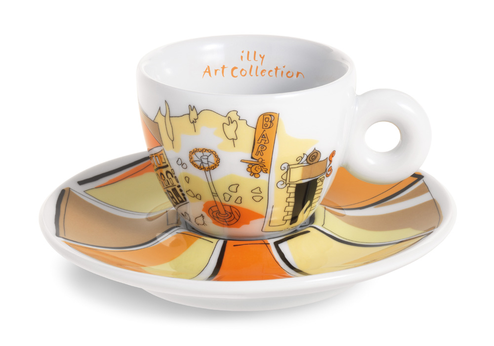 Emilio Pucci, illy Art Collection, skodelica Firence