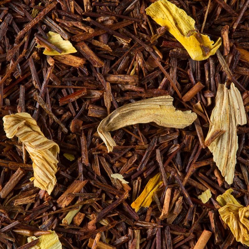 Rooibos Caramel (No. 242), čajni lističi
