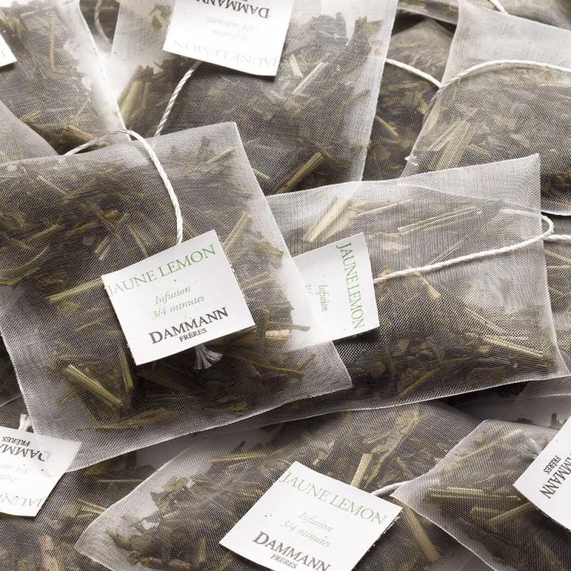 Zeleni čaj Dammann Jaune Lemon, kristalne vrečke