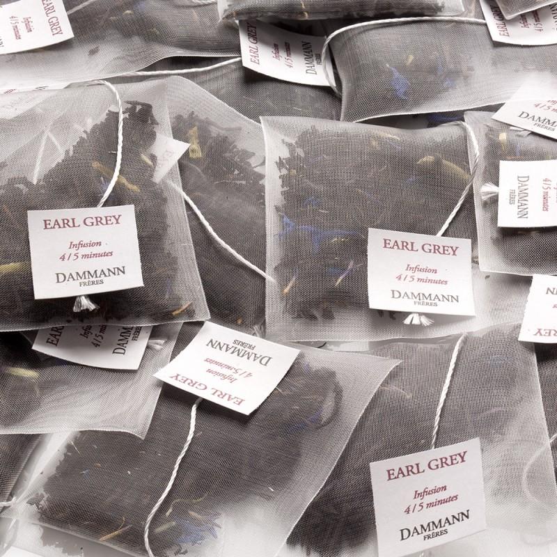Črni čaj Dammann Earl Grey Yin Zhen, kristalne vrečke