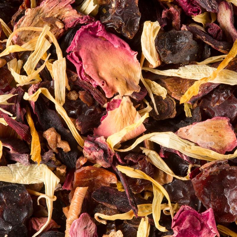 Sadni čaj Carcadet Fragola, 20 kristalnih vrečk