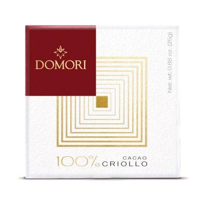 Domori Criollo 100%, 25 g