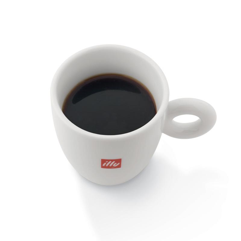 Ameriška kava illy v skodelici