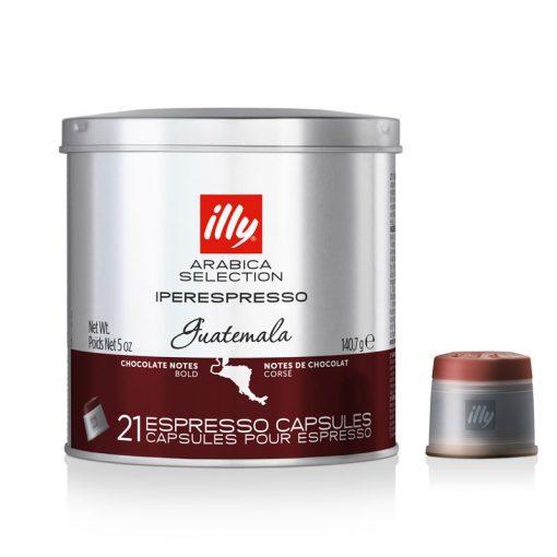 Kava v kapsulah illy Iperespresso Arabica Selection Guatemala