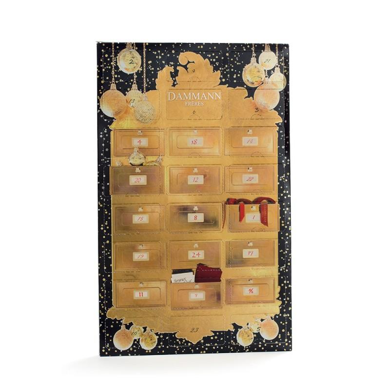 Adventni koledar s čaji Dammann