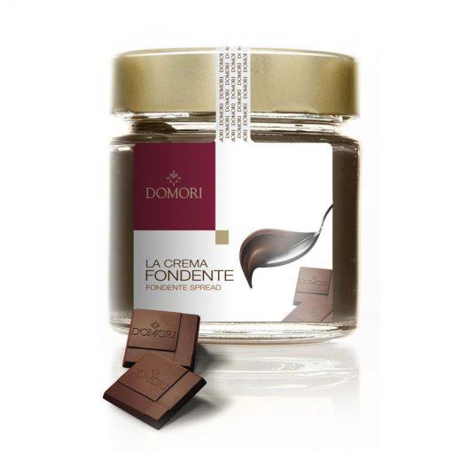 Čokoladni namaz Domori Crema Fondente, 200 g