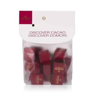 Čokoladne kocke z lešnikovo kremo Domori Cremini, 200 g