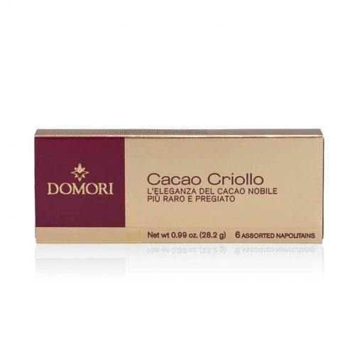 6 čokoladnih ploščic Domori Cacao Criollo, 28,2 g