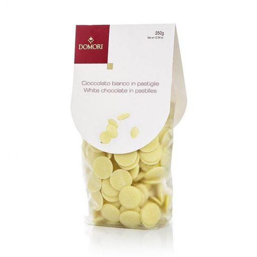 Bela čokolada v ploščicah Domori, 350 g
