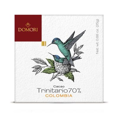 Čokolada Domori Trinitario 70 % Colombia, 50 g