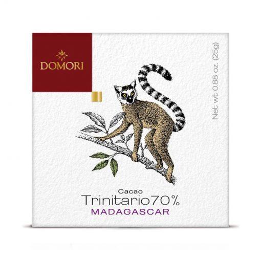 Čokolada Domori Trinitario 70 % Madagascar, 50 g