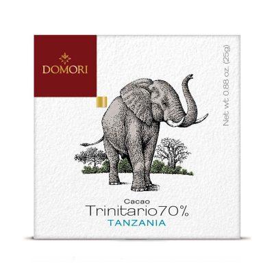 Čokolada Domori Trinitario 70 % Tanzania, 50 g