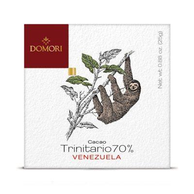 Čokolada Domori Trinitario 70 % Venezuela, 50 g