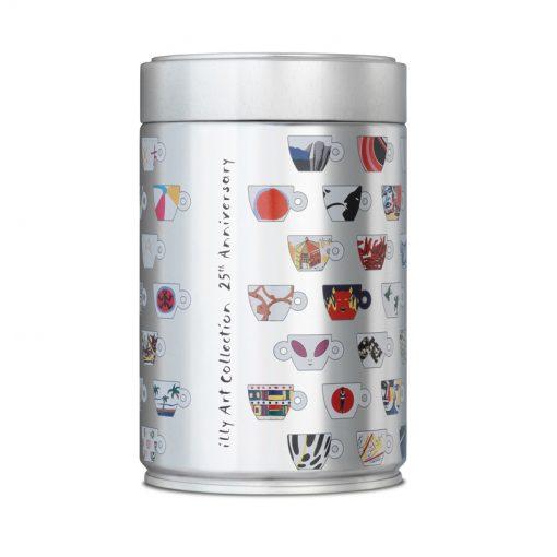 """Mleta kava illy v pločevinki """"25 let zbirke illy Art Collection"""", 250 g"""
