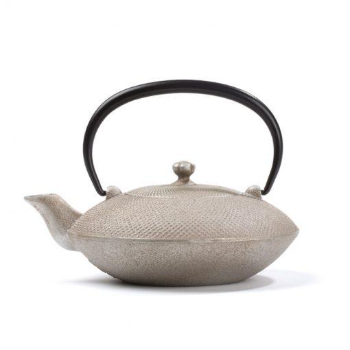 Japonski litoželezni čajnik MAYUMI, srebrn, 0,4 l