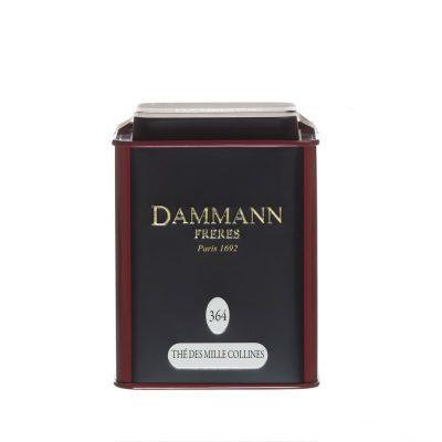 Črni čaj Dammann Thé des Mille Collines, pločevinka 150 g