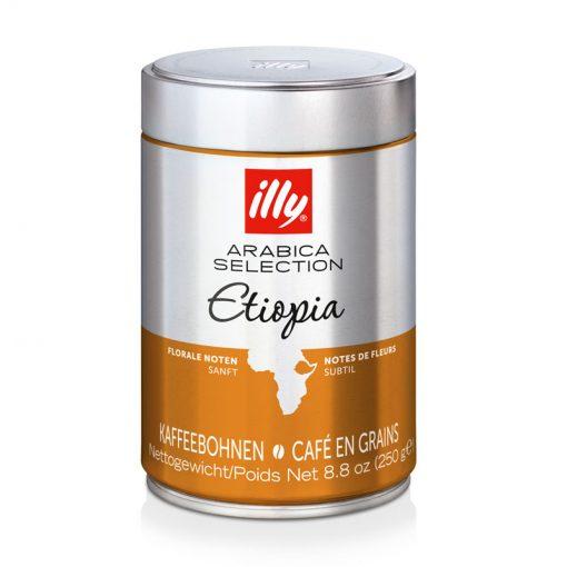 Kava v zrnju illy Arabica Selection Etiopia, 250 g