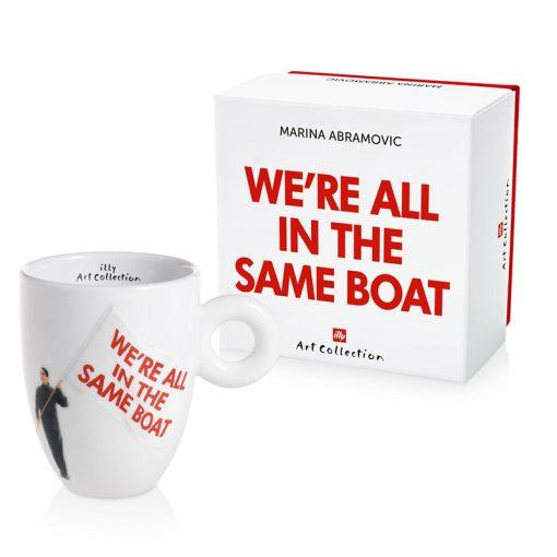 Skodelica Marina Abramovic – We're all in the same boat, Barcolana 2018