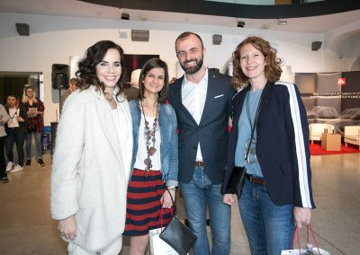 Lorella Flego, Valentina Scottani (illycaffè), Darko Čuturić (illycaffè) in Antonella Skerlavaj (illycaffè)