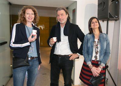 Antonella Skerlavaj, Carlo Bach in Valentina Scottani (illycaffè)