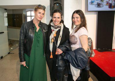 Damijana Čulk (Thelo), Veronika Cvilak Križmančič (revija Pet zvezdic) in Petra Arula (novinarka za revije Sensa, Jana, Cosmopolitan, Bodi zdrava)