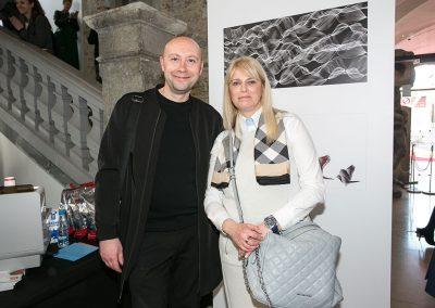 izr. prof. Jure Miklavc (ALUO) in Mateja Šenkinc (Espresso)