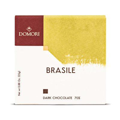 Bio temna čokolada Domori Brasile, 25 g