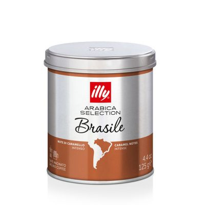 Mleta kava illy Arabica Selection Brasile, 125 g