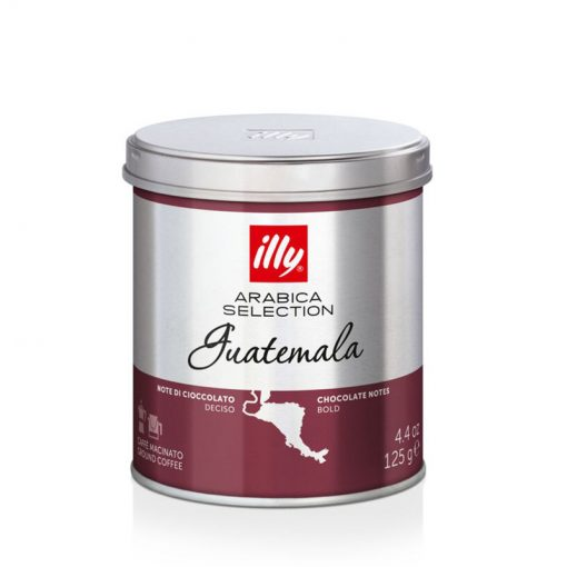 Mleta kava illy Arabica Selection Guatemala, 125 g