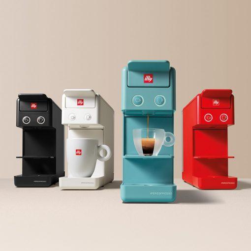 Kavni aparat illy Y3.2 Espresso&Coffee, barve