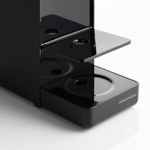 Kavni aparat illy Y3.2 Espresso&Coffee, po višini prilagodljiv podstavek za skodelice