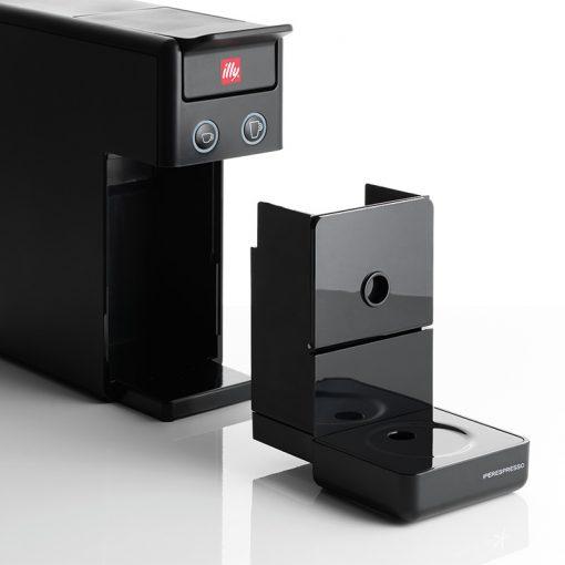 Kavni aparat illy Y3.2 Espresso&Coffee, enostavna demontaža podstavka
