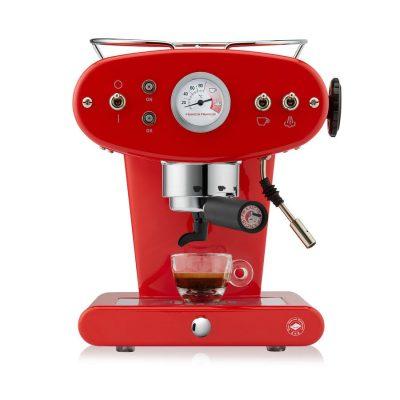 Kavni aparat illy X1 TRIO E.S.E. v rdeči barvi