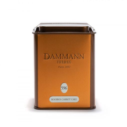 Čaj v pločevinki Dammann Rooibos Carrot Cake